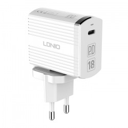LDNIO Type-C PD 18W Fast Charger with Cable