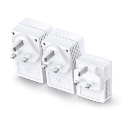 TP-Link AV600 Powerline Universal Wi-Fi Range Extender, 2 Ethernet Ports, Network Kit