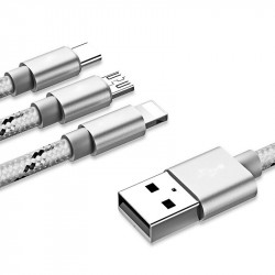 Yoobao 453 Charging 3-in-1 USB Cable