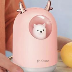 Yoobao M106 Cute Pet Cool Mist Humidifier -PINK