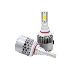 C6-9005 8000K All-in-One Compact Design LED Lighting Headlight Globe