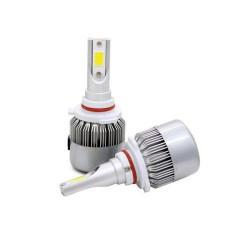 C6-9006 8000K All-in-One Compact Design LED Lighting Headlight Globe