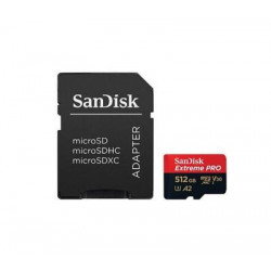 Sandisk Extreme Pro Micro-SDXC 512GB + SD Adapter