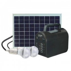 Everlotus 10W solar lighting system with Bluetooth Speaker