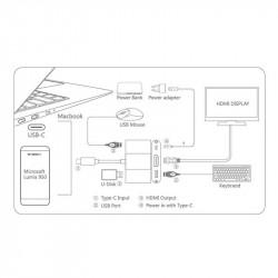 Onten USB-C To 4K UHD HDMI Multifunction Station