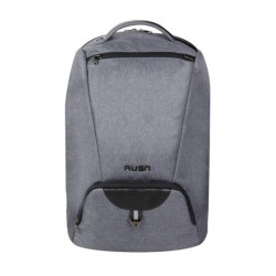"""RUSA 508 15.6""""NOTEBOOK BACKPACK; WATER-REPELLENT NYLON ;GREY COLOUR"""