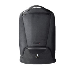 """RUSA 508 15.6""""NOTEBOOK BACKPACK; WATER-REPELLENT NYLON;  BLACK COLOUR"""