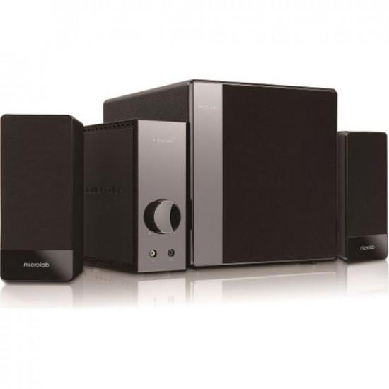 Microlab FC 360 Subwoofer Speaker Set (2.1 Channels)(54W)(Black)