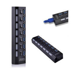 Baobab 7-Port USB3.0 HUB with AC Adaptor