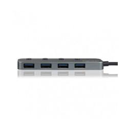 Intopic HB-550, 4 Ports USB3.1 High Speed Hub