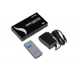 MT ViKI 2 To 4 HDMI Switch And Splitter With IR Remote