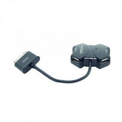 Baobab 4-Port USB2.0 Hub For Galaxy Tab (30-Pin)