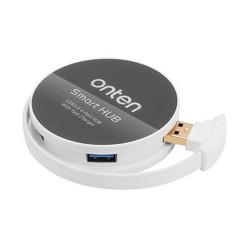 ONTEN USB3.0 4 PORTS HUB; ROUND