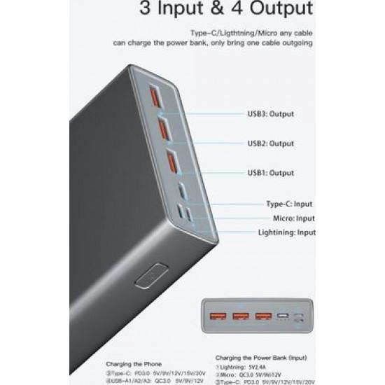 Yoobao 99Wh PD Fast Charging Power Bank (26800mAh)