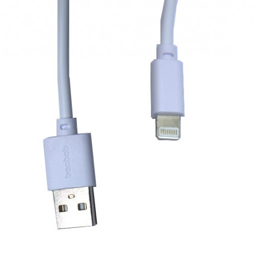 Baobab Lightning To USB-A Charging Cable - White - 100 cm