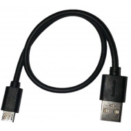 Baobab Micro-USB To USB-A Charging Cable -Black - 30 cm