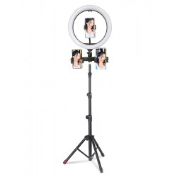 """12"""" LED Ring Light With Tripod & Accessory"""