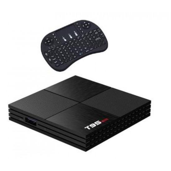 6K Android 9.0 (2+16) T95Mini H6 Allwinner TV Box & Backlit Keyboard