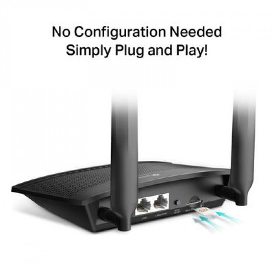 TP-LINK MR100 Wireless 300 Mbps N 4G LTE Router With Ethernet Port