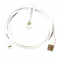 Baobab Lightning To USB-A Charging Cable - White - 30 cm