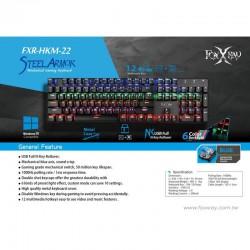 Foxxray Steel Armor Mechanical Keyboard (Wired)