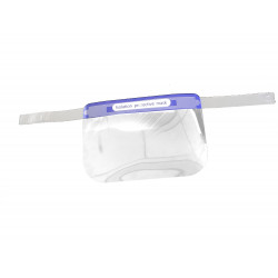 Transparent Non-Disposable Face Shield (Pack of 10)