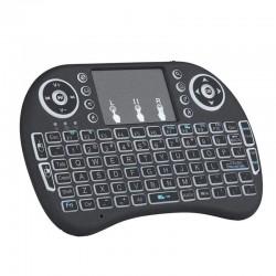 Mini Wi-Fi- Multimedia Keyboard With Touchpad & Backlit